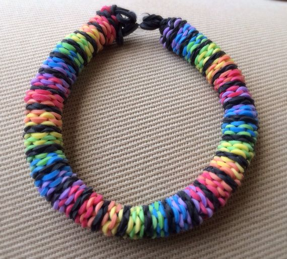 rubber band bracelet designs for casual wearing. Black Bedroom Furniture Sets. Home Design Ideas