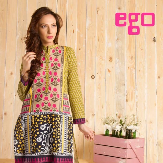 Ego Summer Casual Wear Kurta Collection