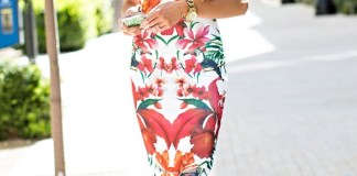 Floral Print Dress-Must Have For Spring-Summer Season