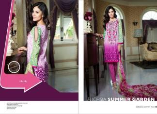 Gorgeous Summer Shalwar Kameez LSM Fabrics 2016