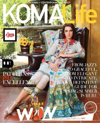Komal Life Summer Lawn Dresses LSM Fabrics 2016