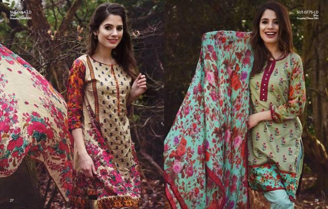 Nimsay Casual Lawn Prints Summer Season Dresses 2016