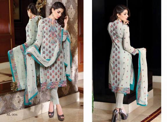 Embroidered Swiss Voile Lawn Dresses