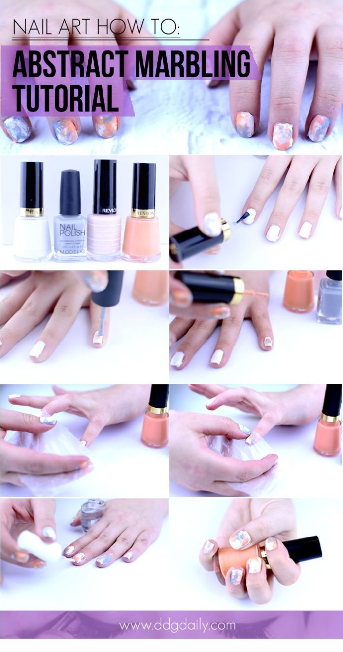 Spring-Summer Simple Nail Art Tutorials For Every Girl