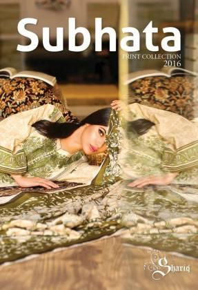 Subhata Print Summer Collection Shariq Textiles 2016