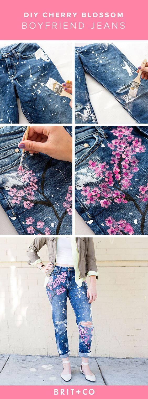 DIY Jeans Customization Ideas