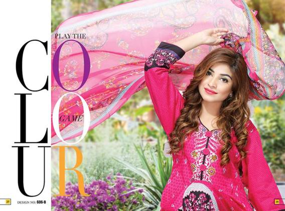 Krinkle Summer Lawn Shalwar Kameez