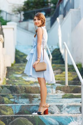 Block Heels Footwear Trend With Summer Outfits 2016
