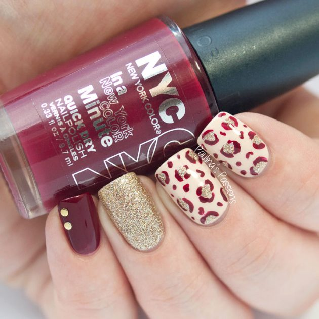 Colorful Leopard Nail Designs For This Summer Season 2016