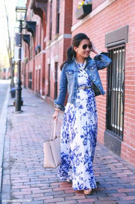 Royal Blue Skirt Outfits To Try In The Summer Heat