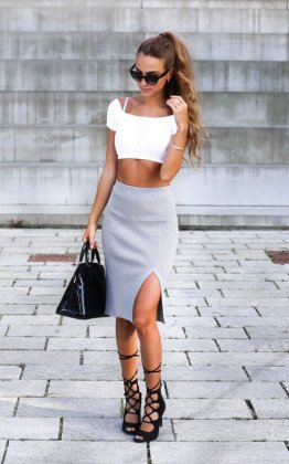 Dresses With High Slits