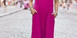 Summer Magenta Dresses
