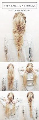 Twisted Fishtail Tutorials Summer Hair Trend In 2016