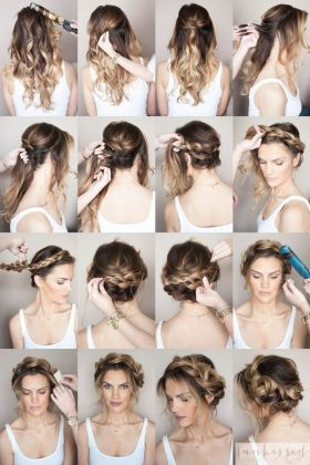 Braided Crown Hair