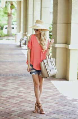 Coral Outfits