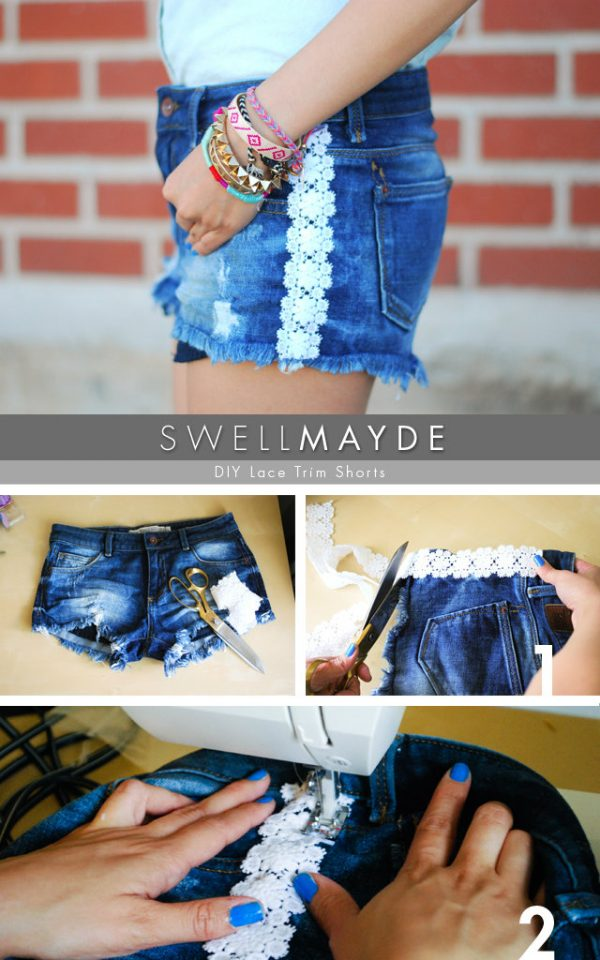 DIY Shorts Ideas For Autumn Season Clothing 2016-17 5