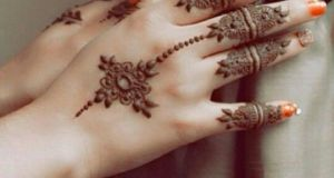 Hand Finger Mehndi Designs
