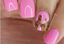 Ice Cream nail Art Designs
