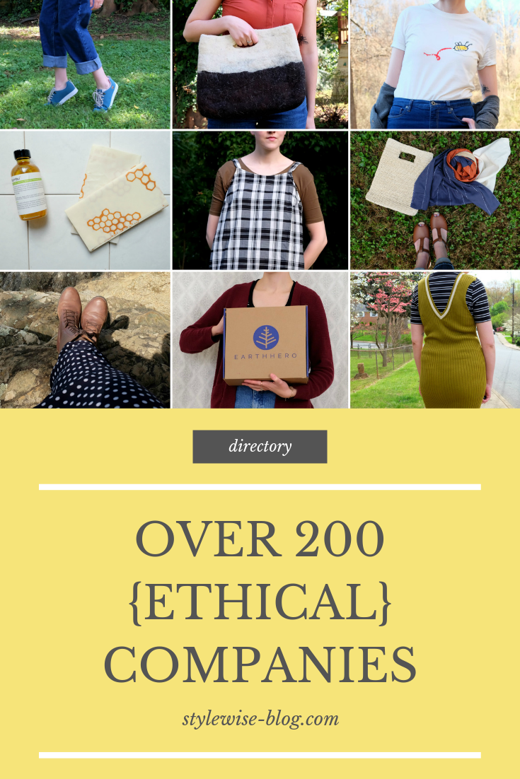 ethical brands, sustainable companies, slow fashion, womens clothing