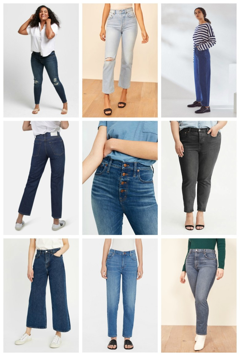 ABLE | Reformation | Kowtow | Monkee | Madewell | Levi's | People Tree | Eileen Fisher | Reformation