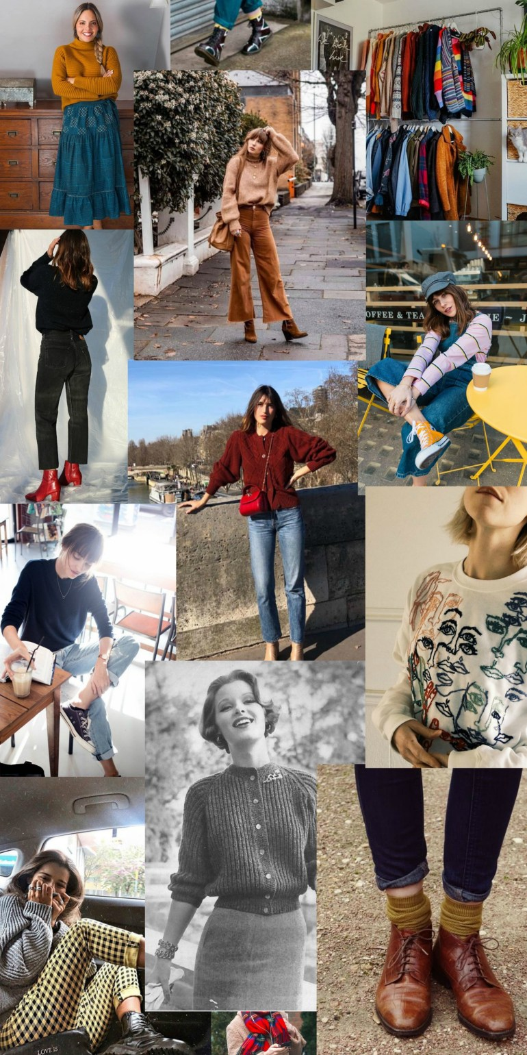 Fall 2019 Inspiration: 50s Meets 80s - All image sources linked below