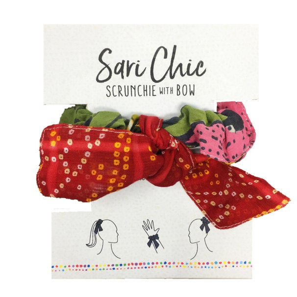 ethical holiday gift guide - fair trade scrunchies