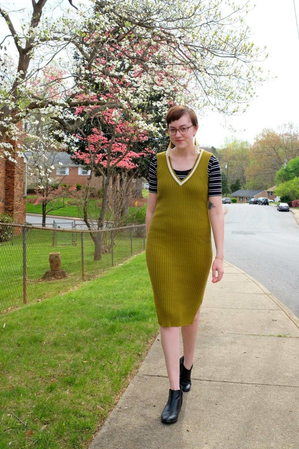 Ankura Arielle Dress with organic pima cotton stylewise-blog.com