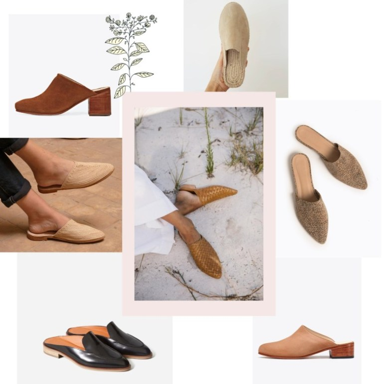 ethical mules for spring