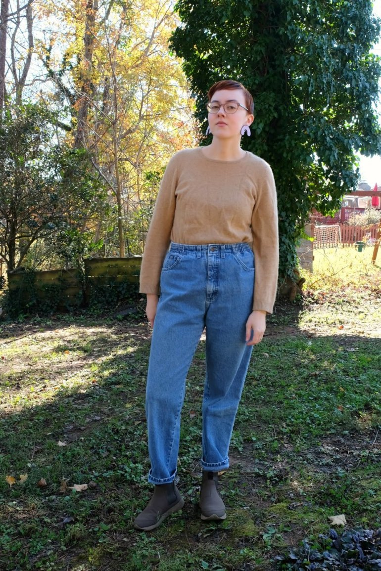 ethical and secondhand fashion vintage jeans stylewise-blog.com