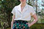 #FashRev Week   #Haulternative DIY: Custom Embroidered Blouse