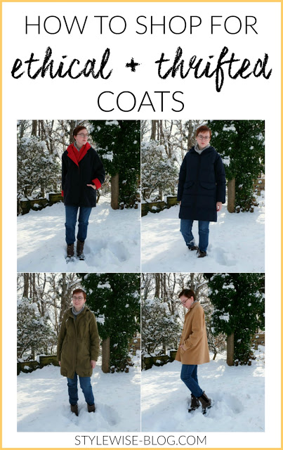 tips for buying ethical and thrifted coats stylewise-blog.com