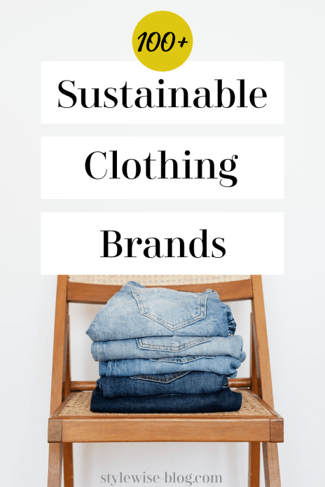 sustainable clothing brands directory