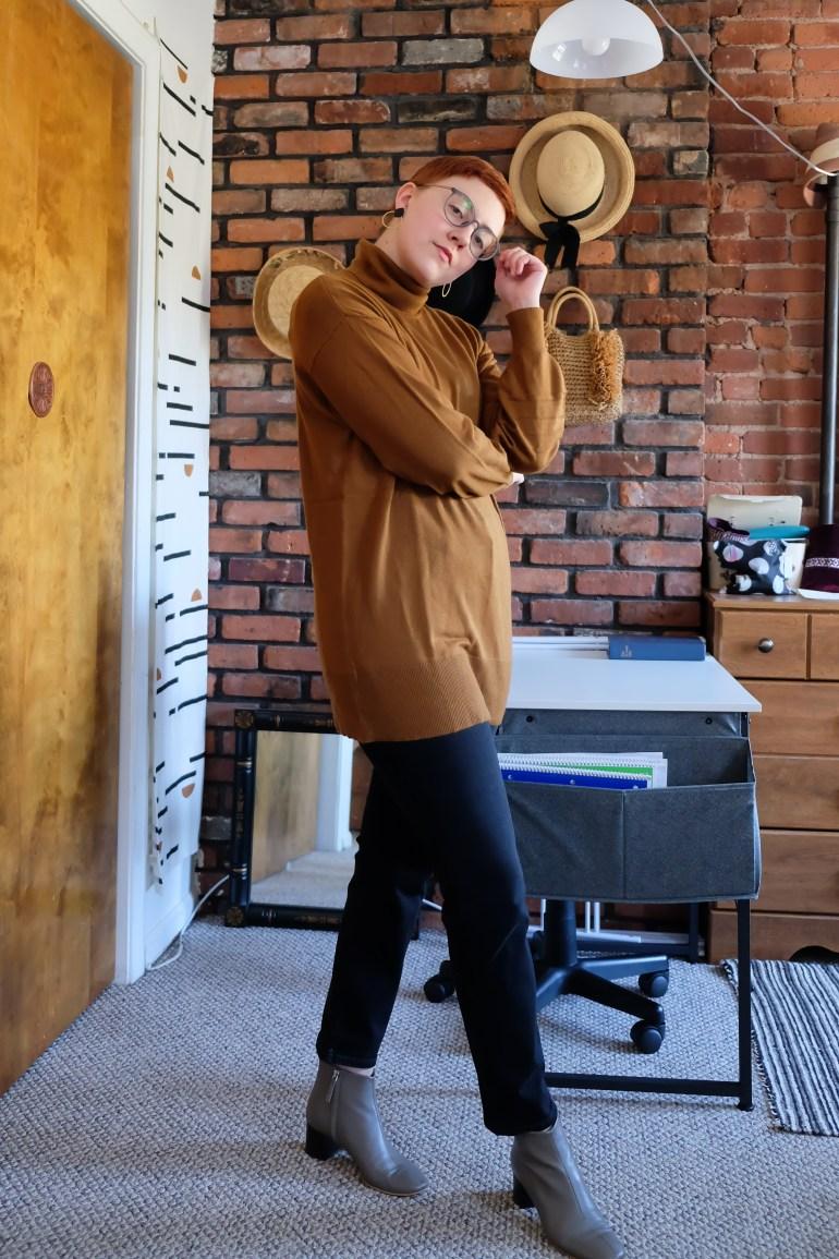 fair trade fashion at Walmart - tunic sweater