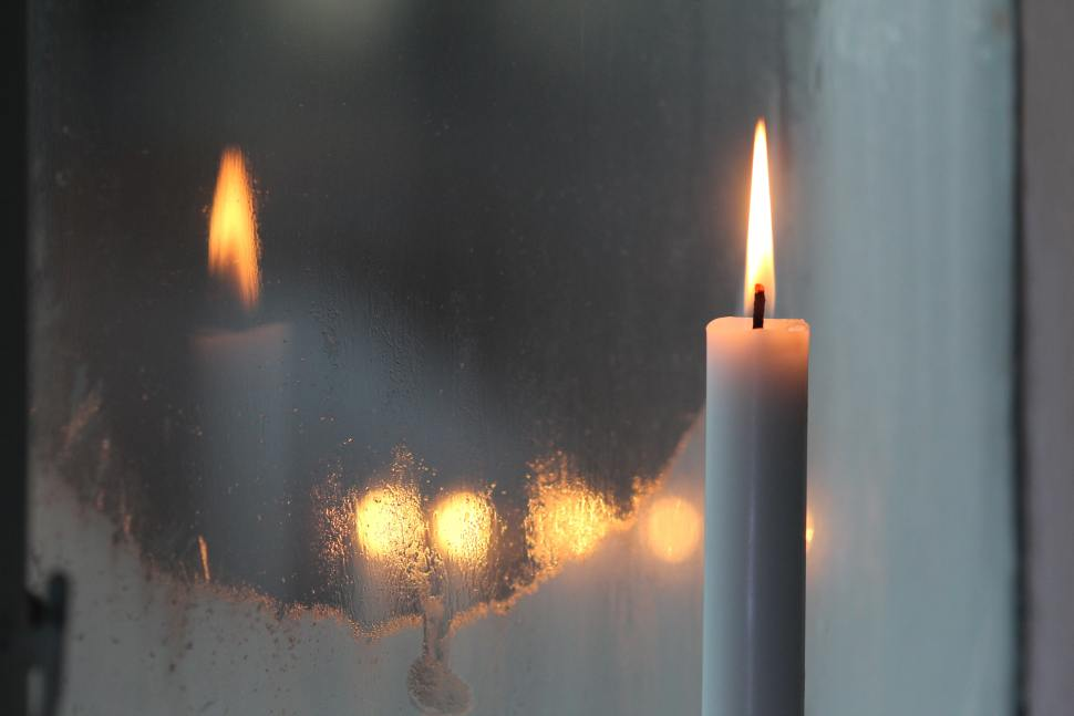 episcopal sermon for advent - candle