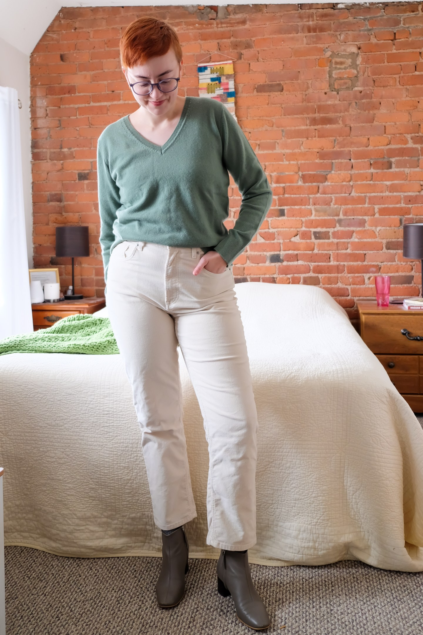 quince affordable cashmere outfit