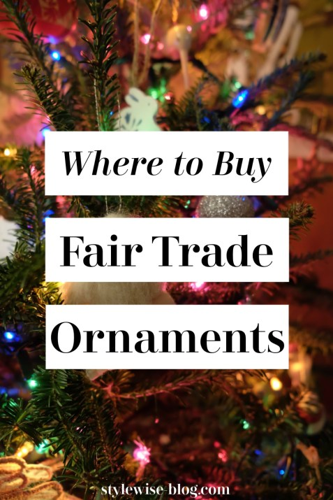 where to buy fair trade ornaments