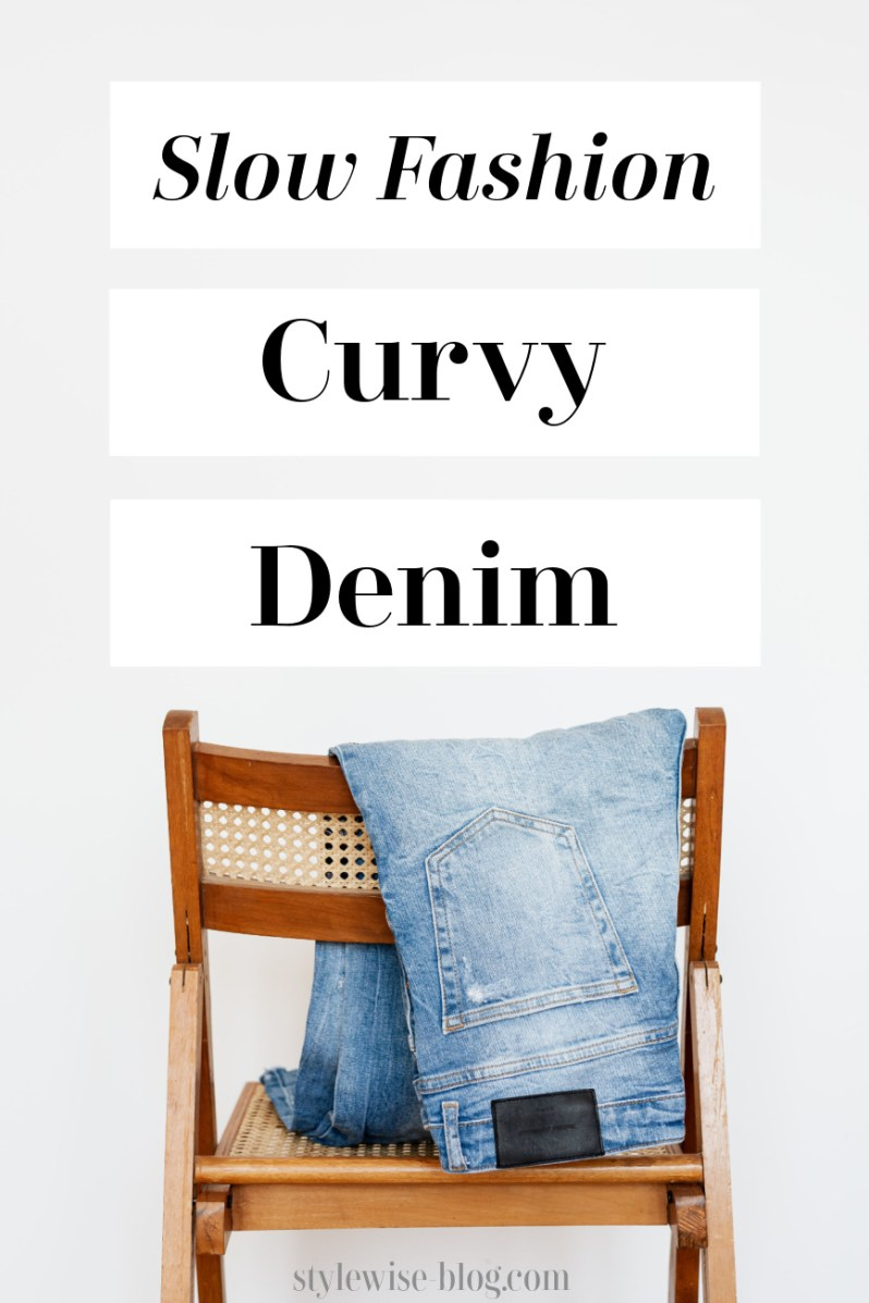 sustainable jeans curvy and plus size