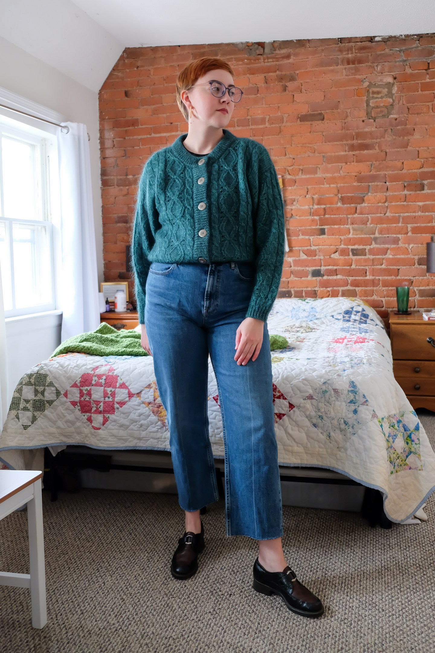 Everlane Way-High Jean Review - size 30