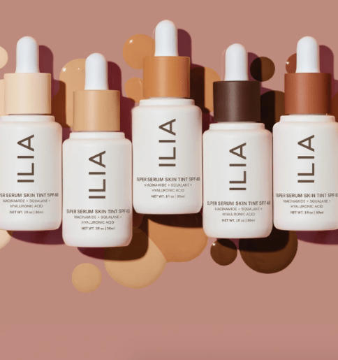 Highly Rated Mineral Sunscreen - ILIA Super Serum