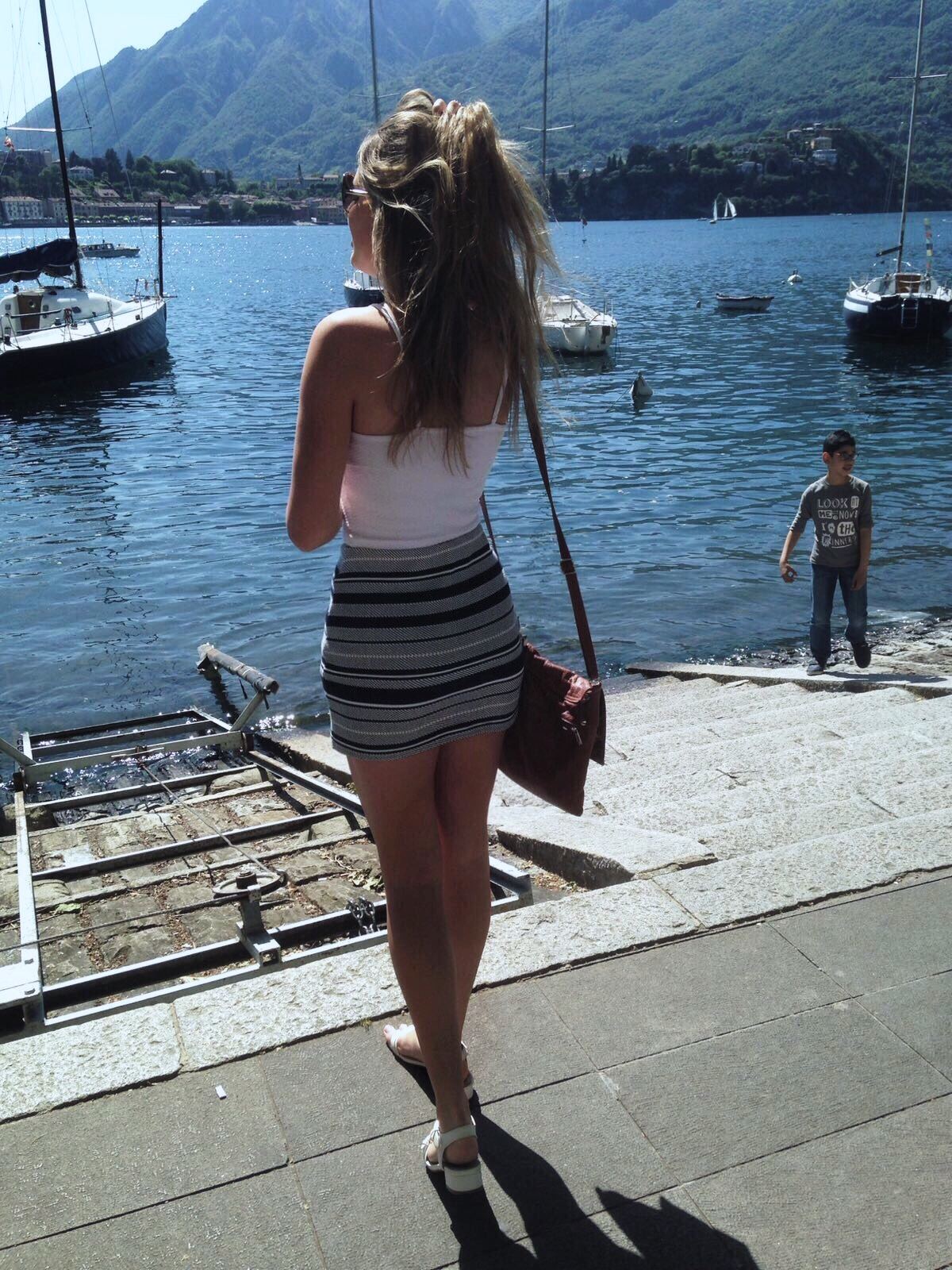 Lecco, lake, fashion blogger, Italy