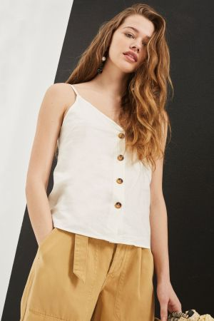 Button Through Camisole Top