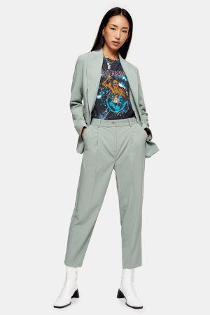 Sage Peg Suit Trousers