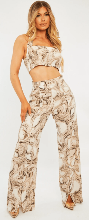 Beige Marble Co-Ord