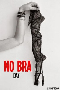 national no bra day OCTOBER 13TH