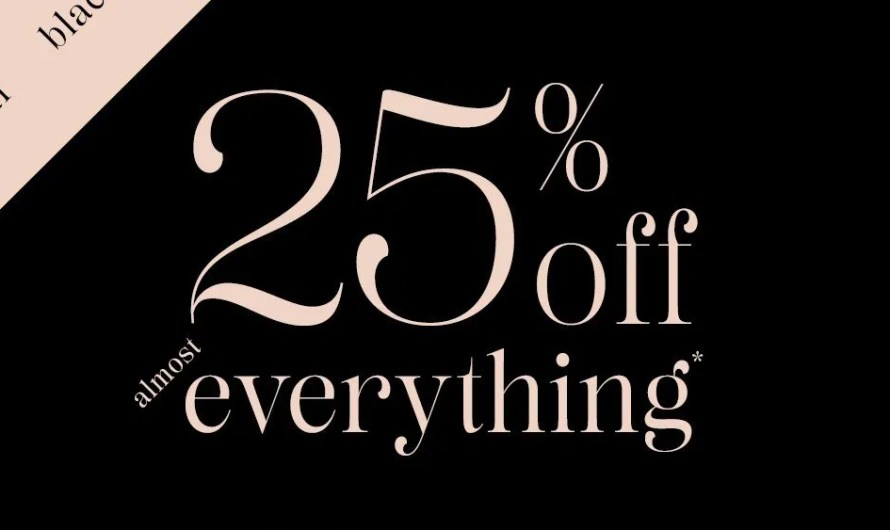 "Ruby Ribbon puts ""almost everything"" on ""Black Friday"" sale"