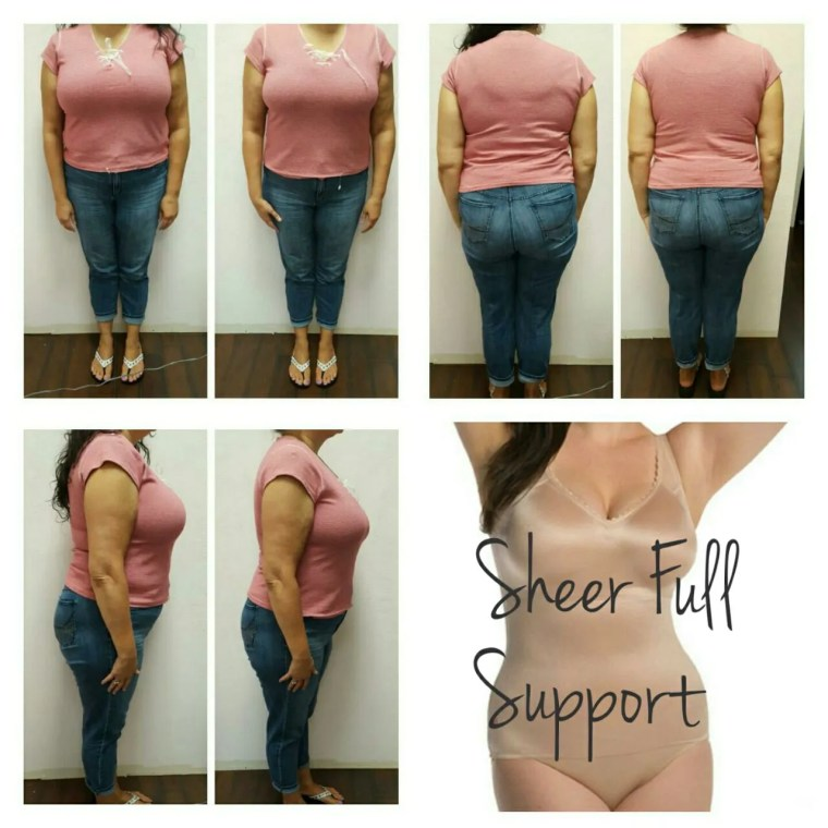 before after sheer full support