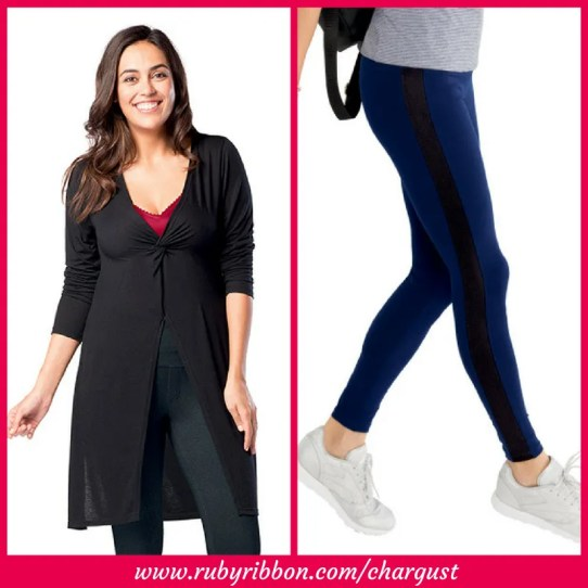 topper and fast track leggings