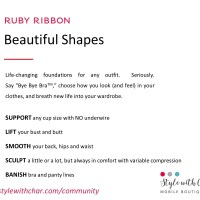 What are the benefits of Ruby Ribbon shapewear?