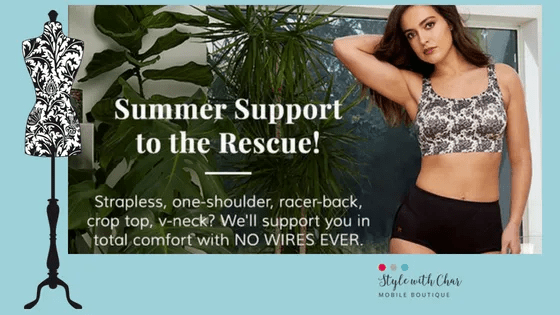 Summer Shapewear and Support to the Rescue!