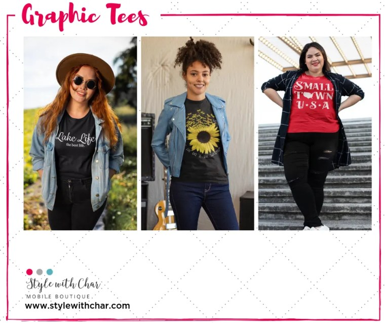 Graphic T-shirts from Style with Char
